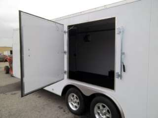 Enclosed Cargo Auto Hauler Race Car Trailer Flat Front 102x24 Racer